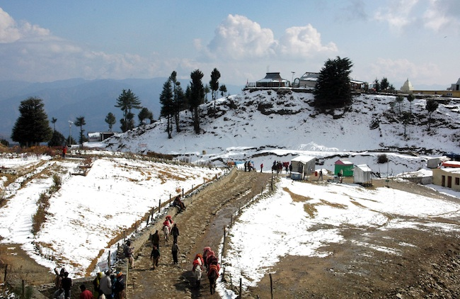 honeymoon in Shimla