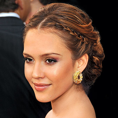jessica alba wedding ring. Jessica Alba… Bridal hairstyle