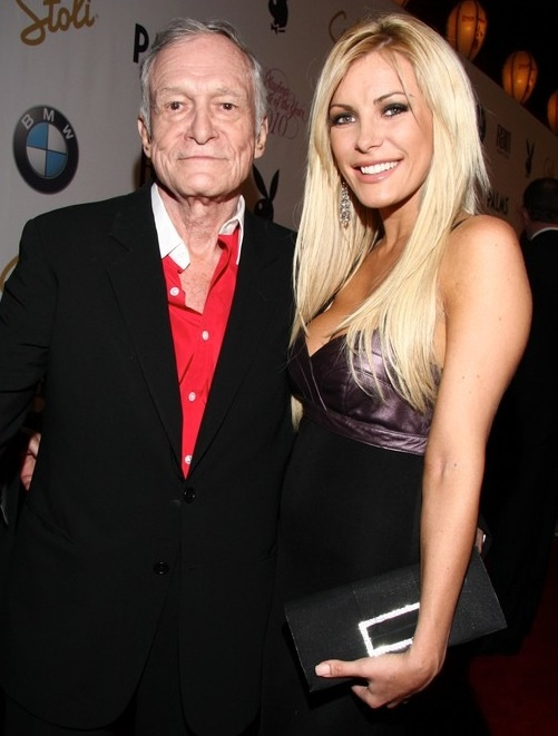 Celebrity Weddings Hugh Hefner And Crystal Harris