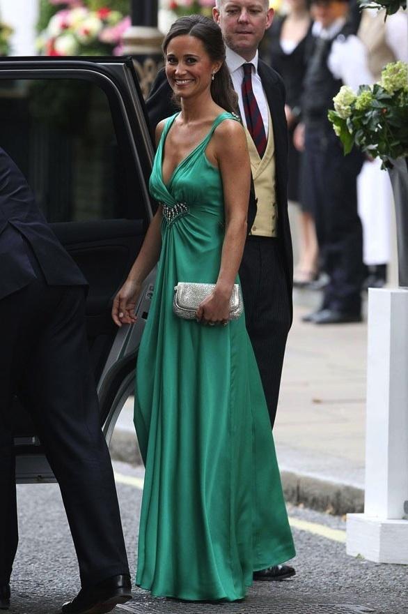 Pippa Middleton reception dress