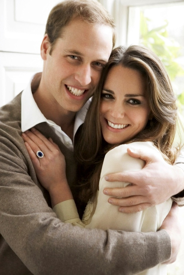 william & kate engagment photo