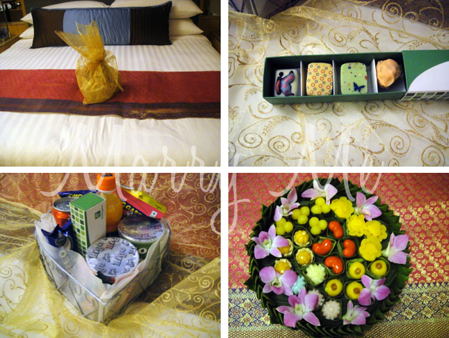Gifts in my room-Silom-Thailand