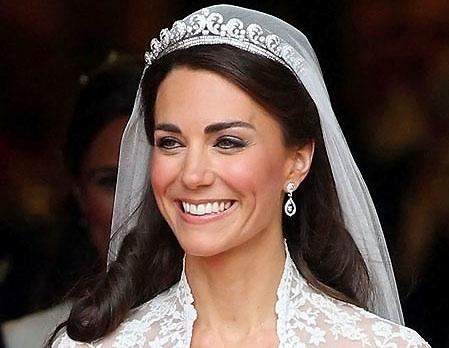 Kate Middleton's bridal make-up