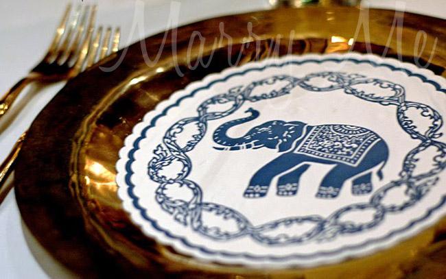 Plate-Blue-elephant-Thailand-Bangkok