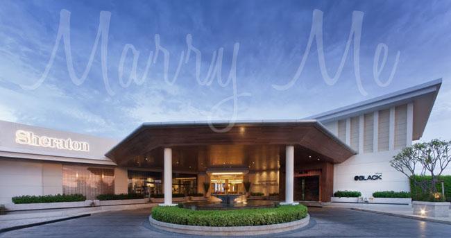 Resort Entrance-Shereton-Thailand