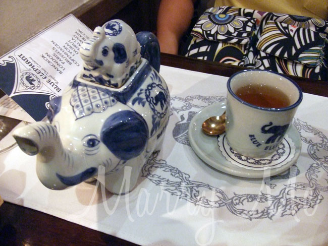 Tea at Blue-Elephand-Thailand
