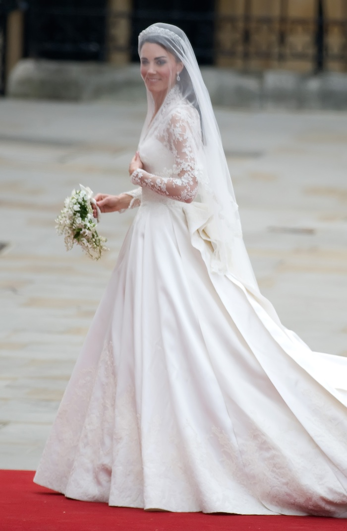 Royal wedding : kate's wedding gown