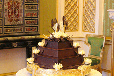 Royal Wedding : william & Kate's chocolate buscuit cake