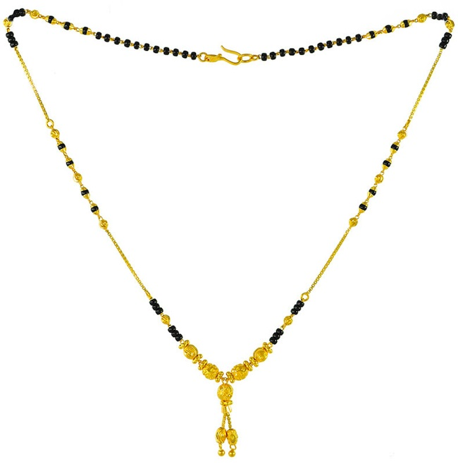 Indian bridal Jewelry - mangalsutra