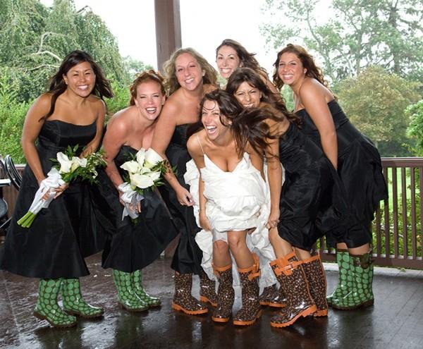 Bride Rain Boots