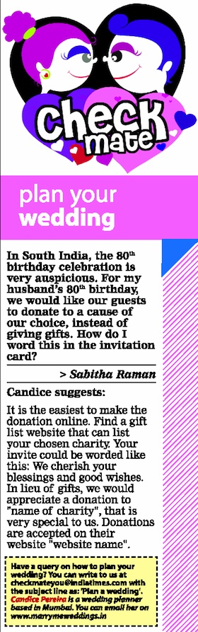indian wedding questions