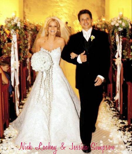 jessica simpson & Nick Wedding