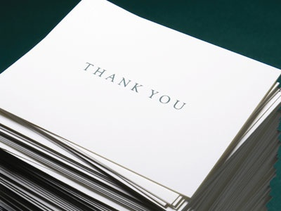Wedding   Cards on Wedding Stationery   Thank You Notes   Cards   Getting Started