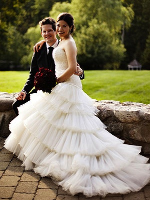 America Ferrera & Ryan Piers wedding