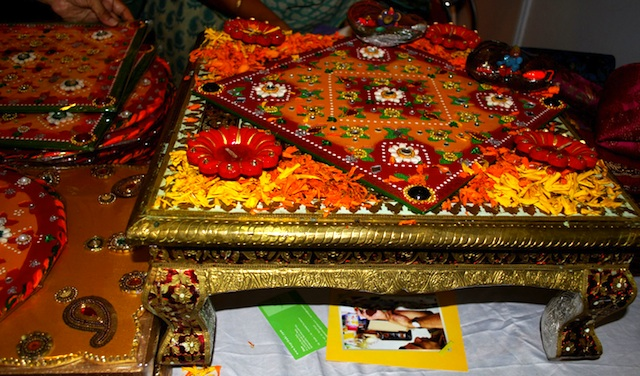 Indian wedding design - rangoli