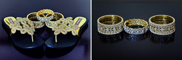 Indian wedding jewellery & shoes