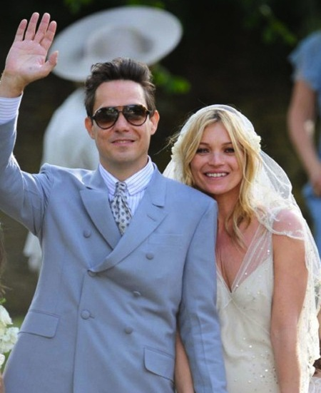 Kate moss & Jamie wedding day