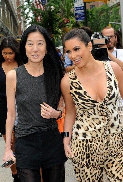 kim Kardashian & Vera Wang