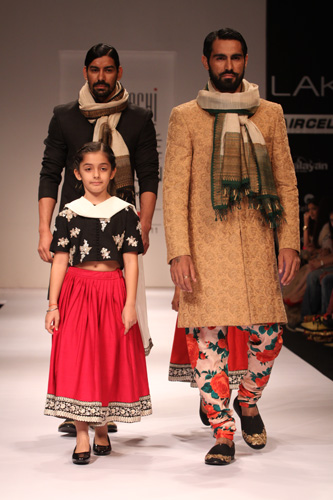 Sabyasachi at Fashion week