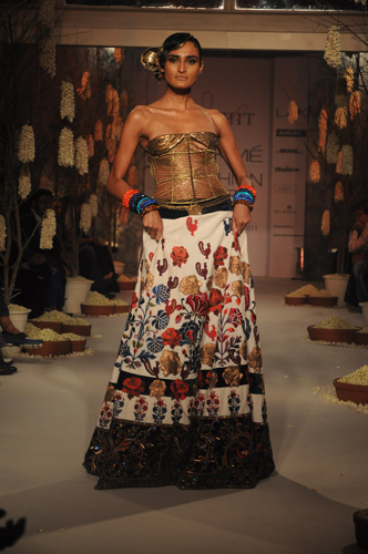 Rohit Bal at Lakme Fashion Week 2011