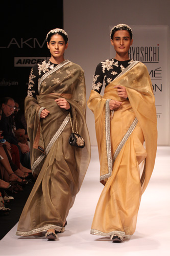 Sabyasachi at Fashion week 2011