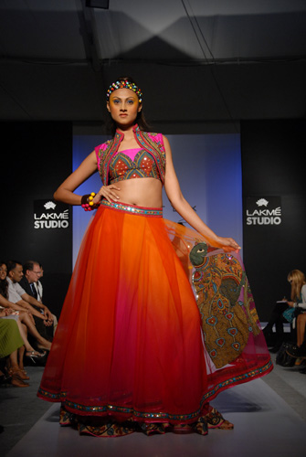 Nishika Lulla at Lakme Fashion week