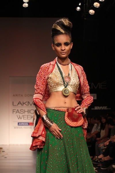 Anita Dongre's collection at LFW 2011
