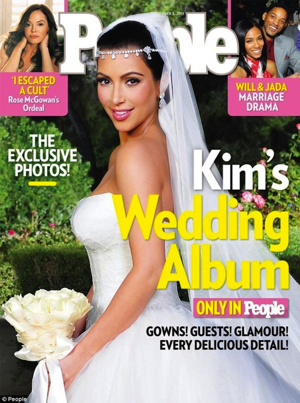 Kim Kardashian wedding pictures