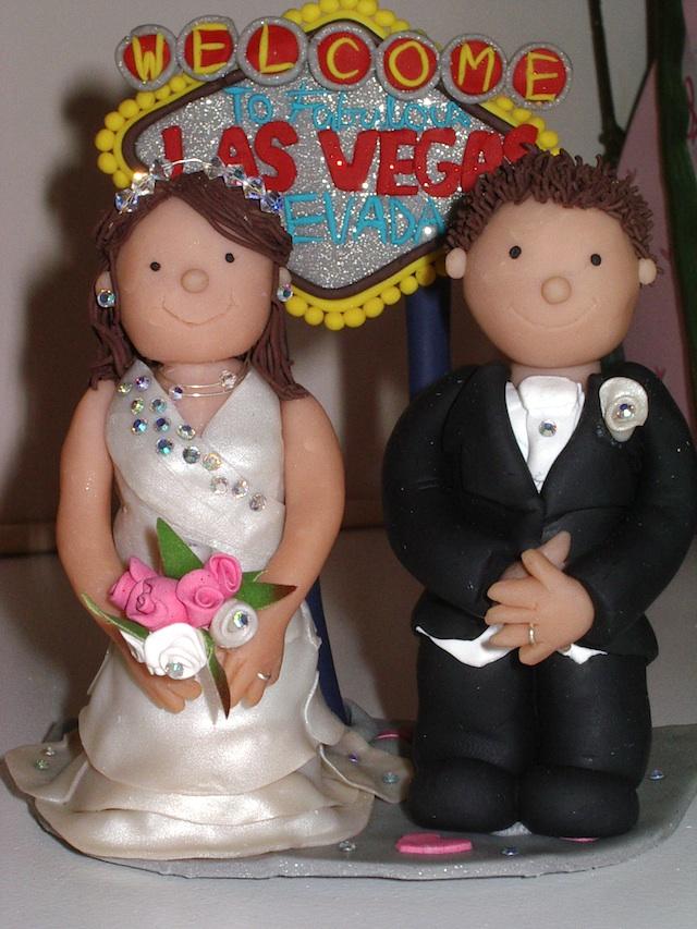 Las Vegas Theme cake topper