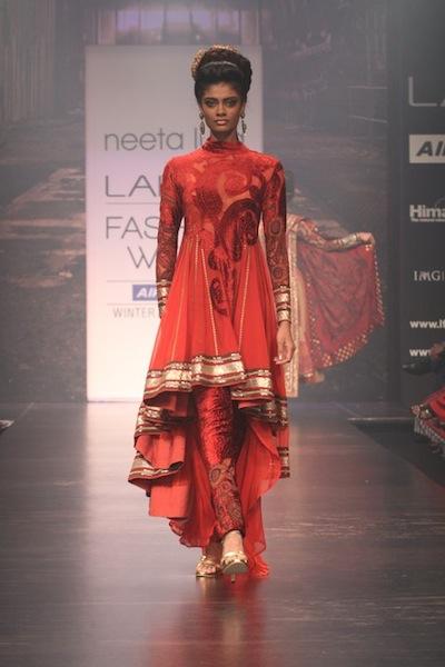 Neeta Lulla at Lakme Fashion Week 2011