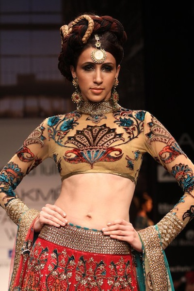 Neeta Lulla at Lakme Fashion Week