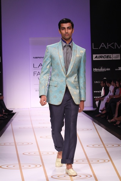 Narendra Kumar at Fashion week