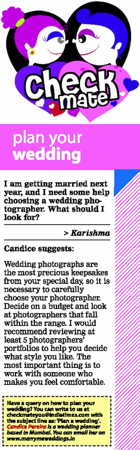 marriage planner Candice