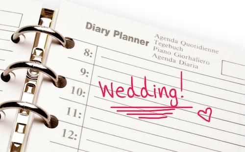 planing a wedding
