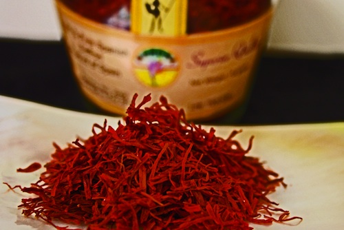 saffron used for Indian wedding food