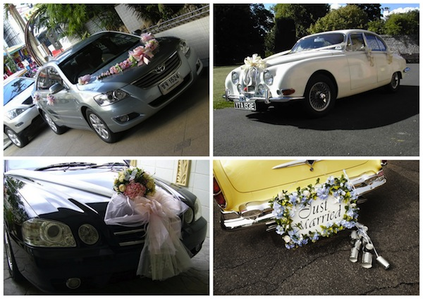 car decoration in indian wedding