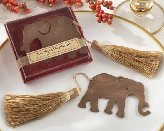 wedding favors - elephant