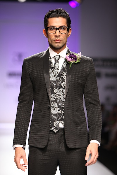 Troy Costa at Delhi Fashion Week 2011