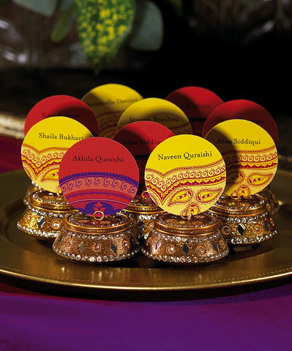 Wedding World: Indian Wedding Favors