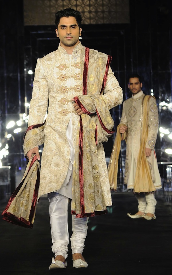 mens wear at India bridal week
