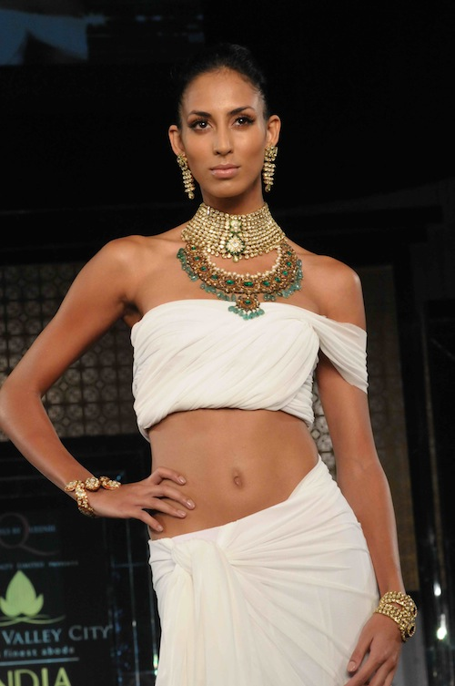 Queenie Singh Jewelry at Bridal Week