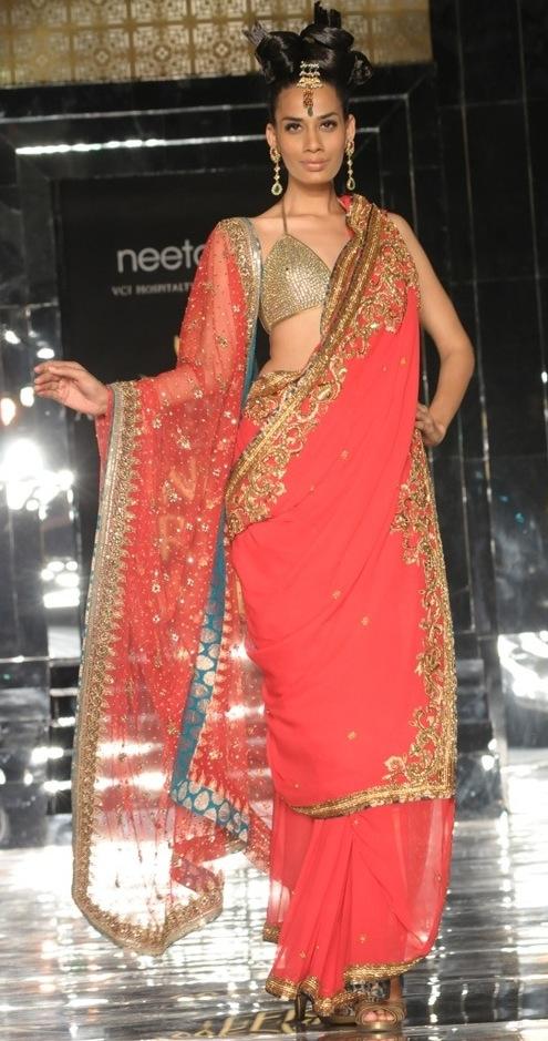 Bridalwear by Neeta Lulla at Fashion Week