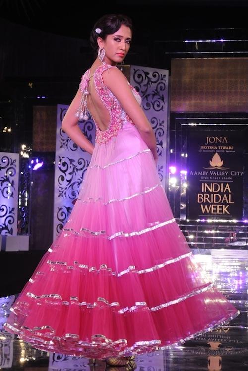 Jyostna Tiwari gown at India Bridal Week