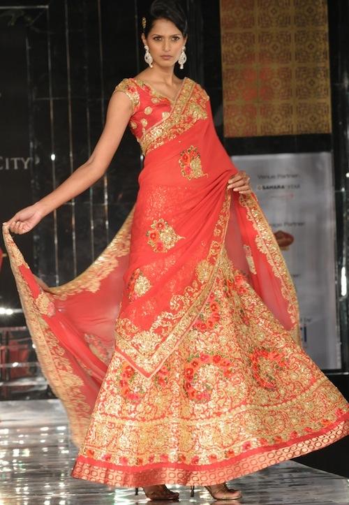 Pallavi Jaikishan bridal wear
