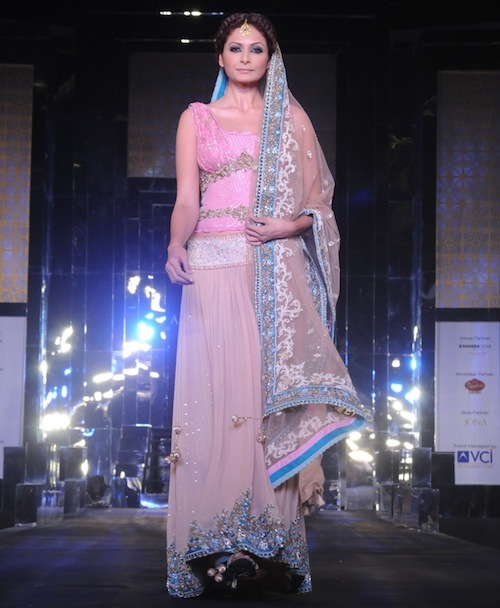 Model in Rocky at India bridal week