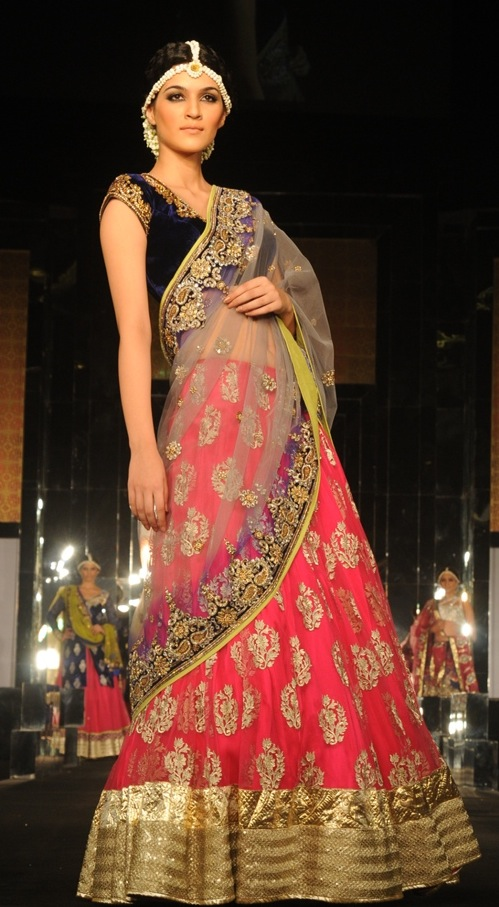 Model in Vikram Phadnis at India bridal week