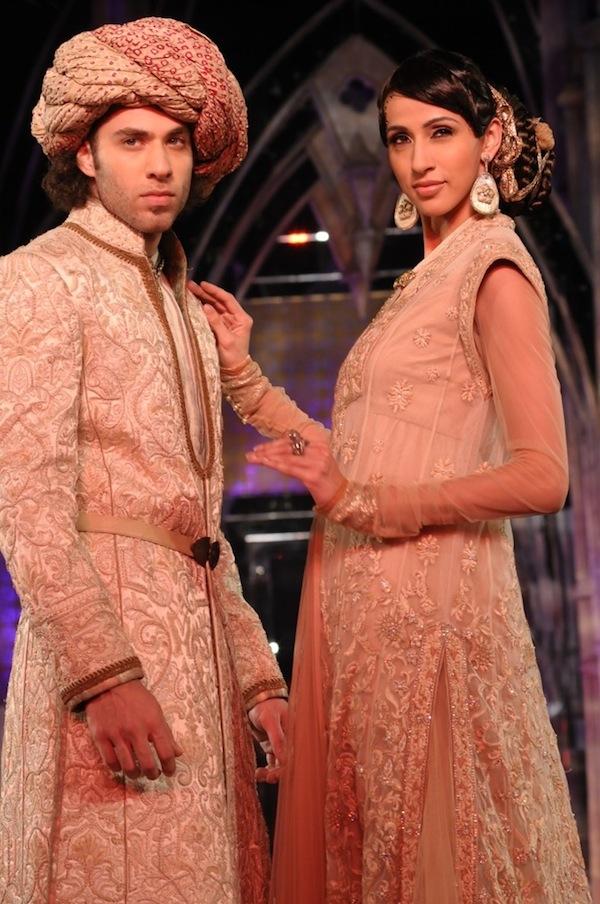 Tarun Tahiliani bridal wear at India Fashion week