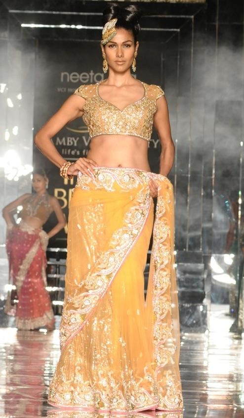 Nethra Raghuram for Neeta Lulla at India Bridal Week