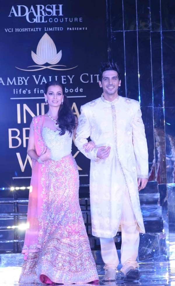 ZAYED KHAN AND DIA MIRZA FOR ADARSH GILL
