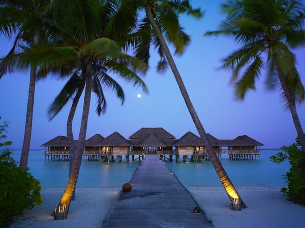 Six Senses resort in Maldives